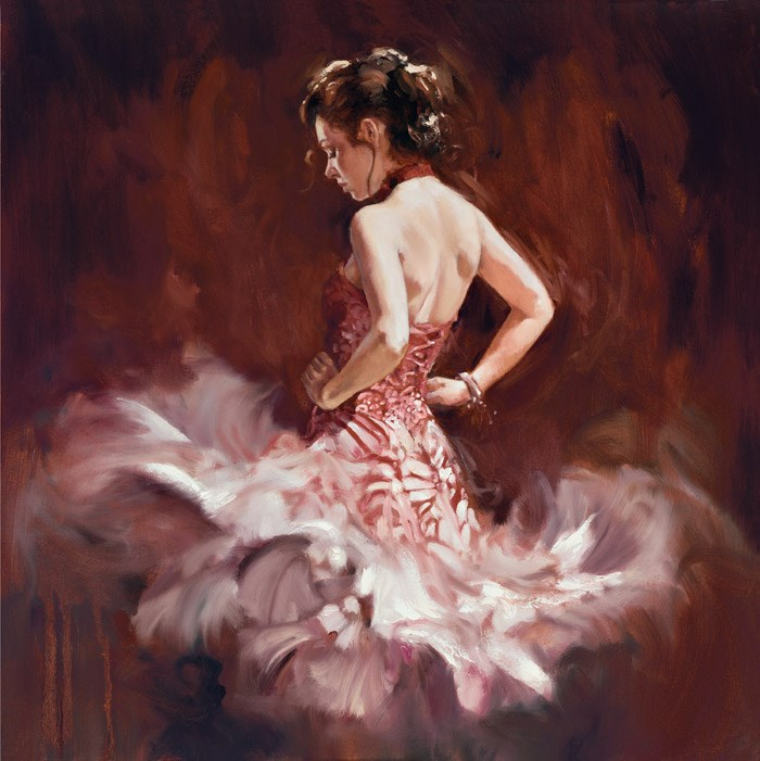 Fantasia by Mark Spain - Hand Finished Limited Edition on Canvas sized 24x24 inches. Available from Whitewall Galleries